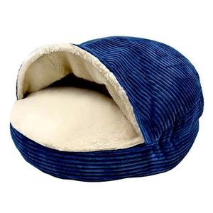 Pet Cave Bed, Navy, NWT